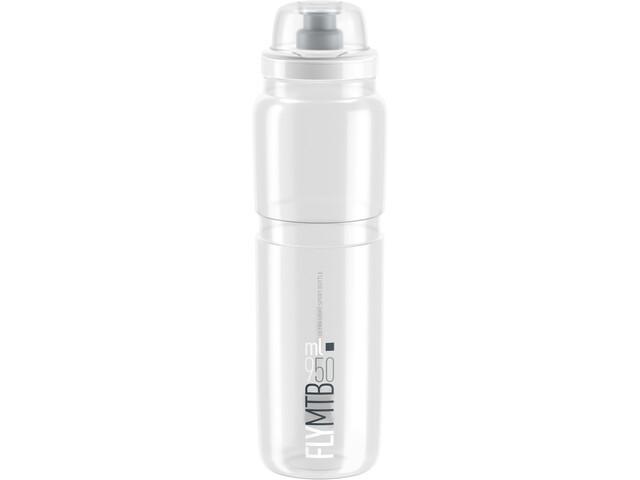 Elite Fly MTB Bidon 950ml, clear/grey logo